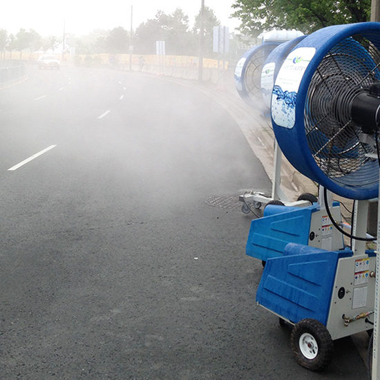 Event Water Solutions Big misting fan