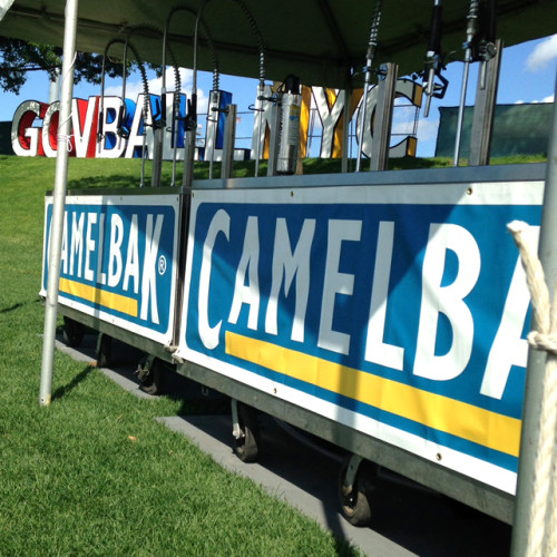 CamelBak water stand